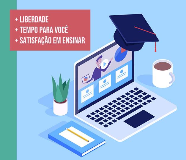 Seja um professor online. Planeje, implemente e oferte um curso EaD